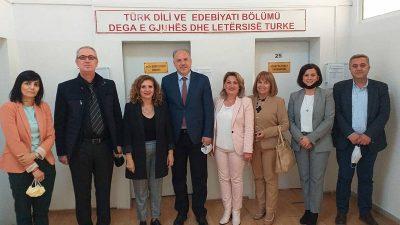 Filoloji Fakültesi Türk Dili ve Edebiyatı Bölümü Ziyaret Edildi
