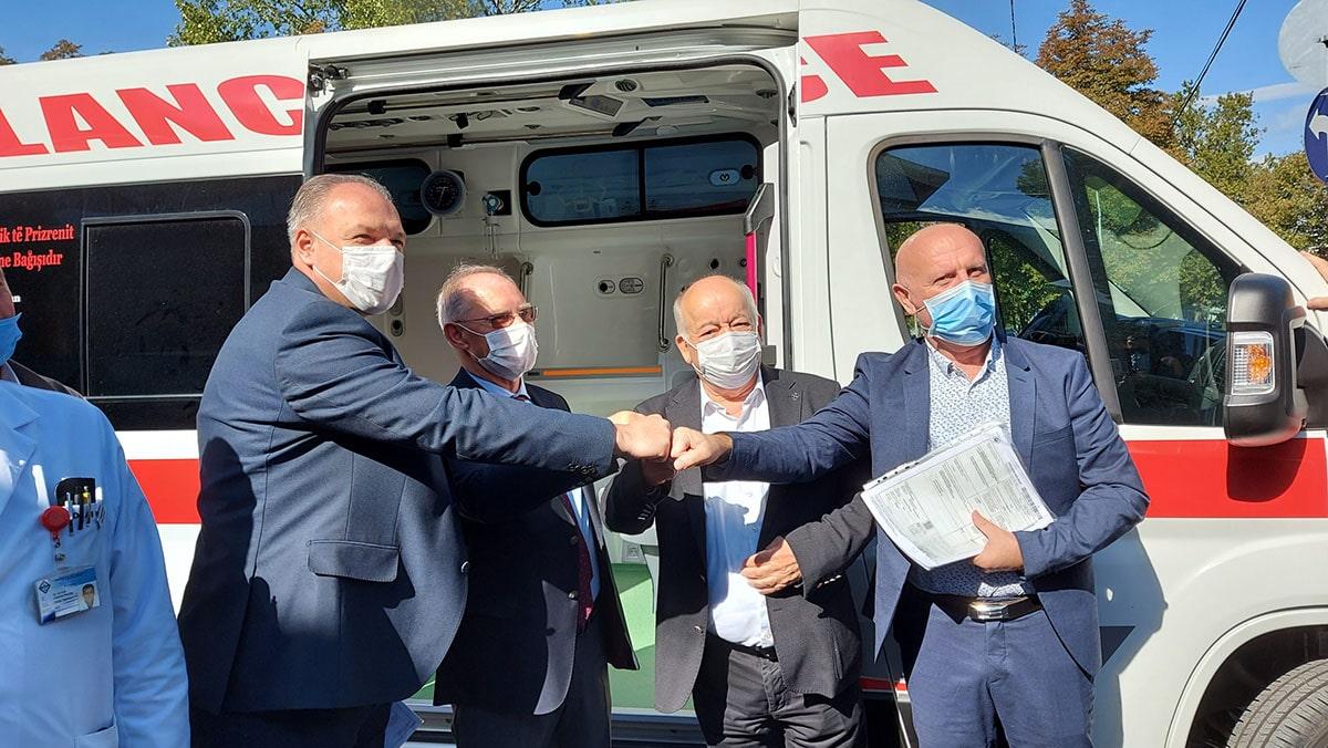 Girişimlerimizle Prizren Hastanesi'ne Büyük Destek