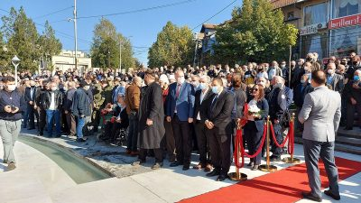 Komutan Drini Anıtı Törenle Açıldı