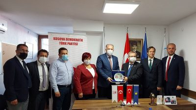 Trakya Üniversitesi Rektörü'nden İade-i Ziyaret