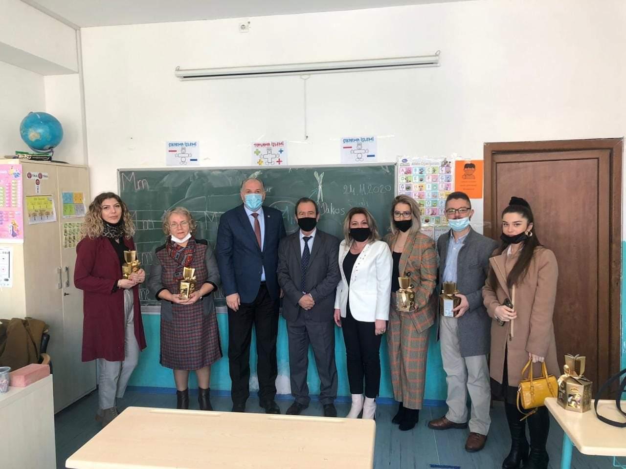 Genel Başkanımız ve Milletvekilimiz, Mitroviça'da Türk Öğretmenlerini Ziyaret Etti