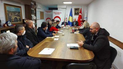 Trakya Üniversitesi Rektöründen Partimize Ziyaret