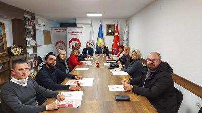 Genel Başkanımız Fikrim Damka, Prizren Milletvekili Adaylarıyla Biraraya Geldi