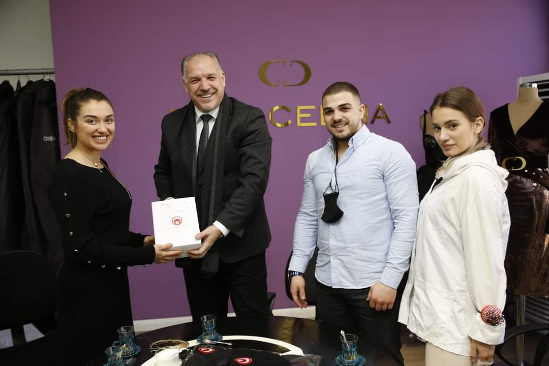 Genel Başkanımız Fikrim Damka, Prizren'de Faaliyet Gösteren İşletmelere Ziyarette Bulundu