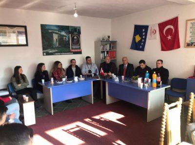 Genel Başkanımız Fikrim Damka, Yanova Gençlik Kolları ile Biraraya Geldi