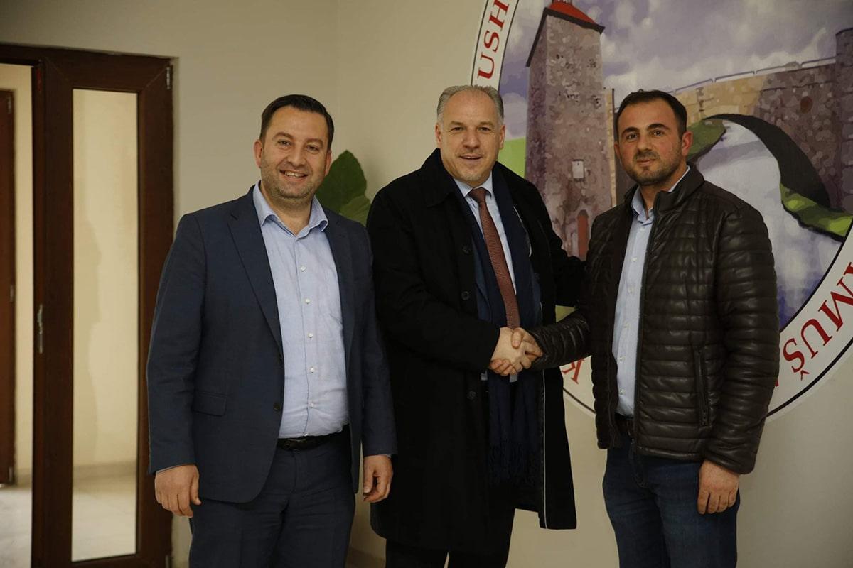 Genel Başkanımız Fikrim Damka, Mamuşa'yı Ziyaret Etti