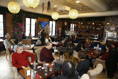 KDTP Genel Başkanı Fikrim Damka ve Parti Üst Düzey Temsilcileri Dernek Başkanlarıyla Biraraya Geldi