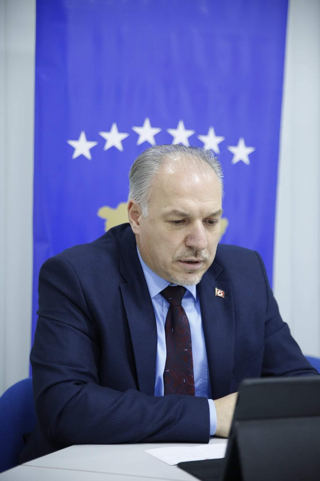 Genel Başkanımız Türkçe Eğitimi Teşvik Projesi Dijital Tanıtım Programına Katıldı