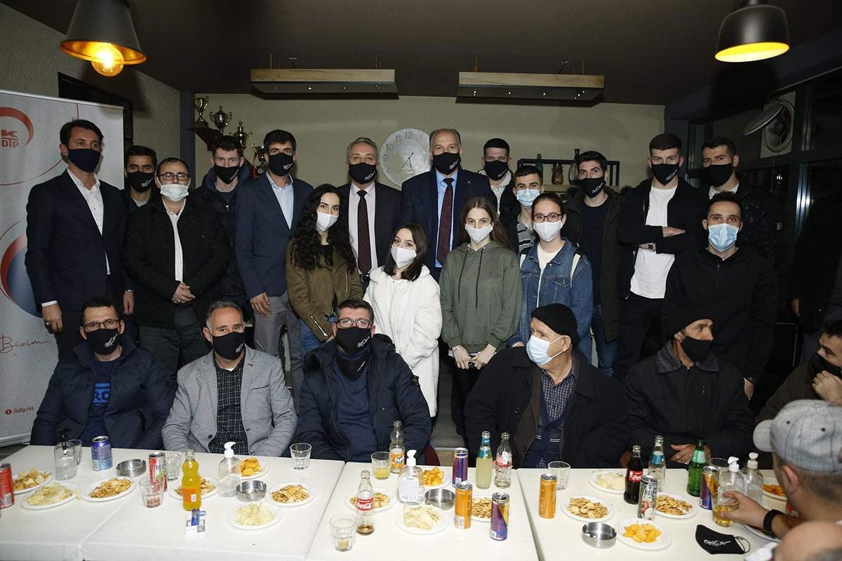 Genel Başkanımız Dobırçan'da Halkla Buluştu