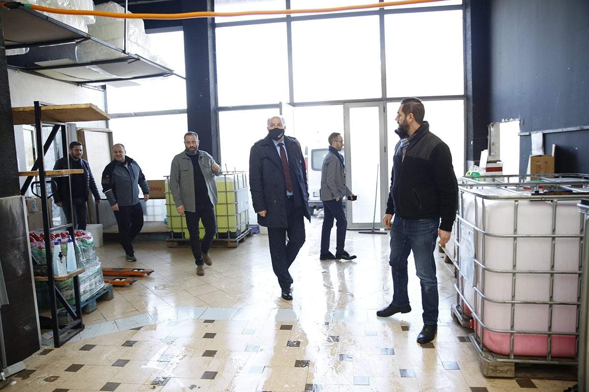 Genel Başkanımız Prizren de Faaliyet Gösteren İşletmeleri Ziyaret Etti