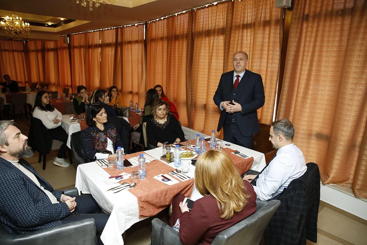 Prizren Üniversitesi öğrencileriyle ve hocalarıyla bir araya geldi