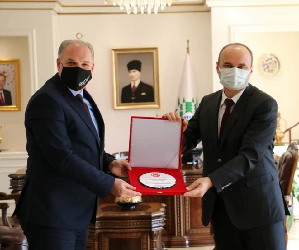 Genel Başkanımız Fikrim Damka ve Beraberindeki Heyet, Edirne Valisi'ni Ziyaret Etti