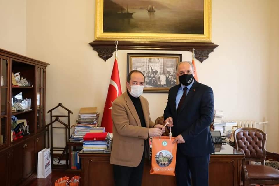 Genel Başkanımız ve Beraberindeki Heyet, Edirne Belediye Başkanı'nı Ziyaret Etti