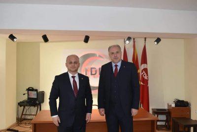KDTP Genel Başkanı Fikrim Damka, TDP Genel Merkezini Ziyaret Etti