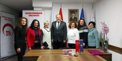 Mamuşa Öğretmenleri Genel Başkanımız Fikrim Damka'yı Ziyaret Etti