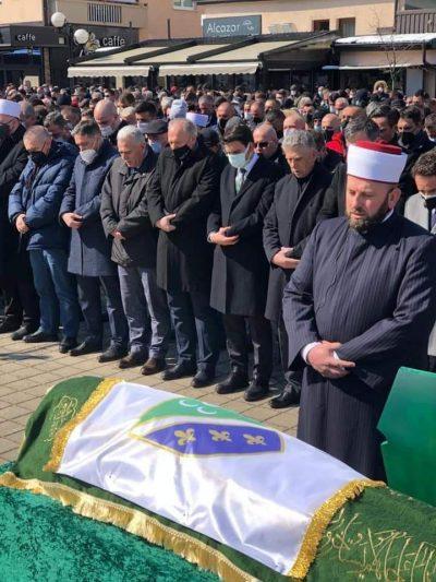 Genel Başkanımız Fikrim Damka, Boşnak Partisi Genel Başkanı'nın Cenaze Merasimine Katıldı