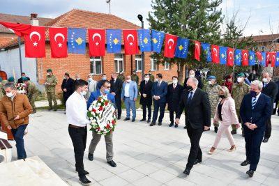 Genel Başkanımız ve Beraberindeki Heyet, 18 Mart Çanakkale Zaferi ve Şehitleri Anma Günü'nde Mamuşa'da