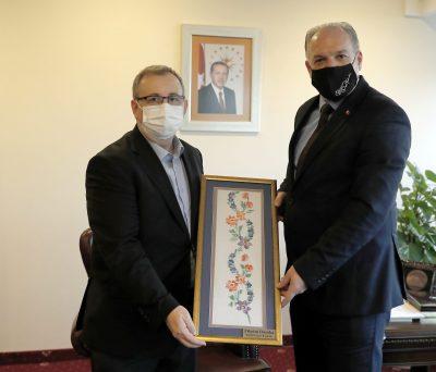 Trakya Üniversitesi Rektörü Prof. Dr. Erhan Tabakoğlu Ziyaret Edildi