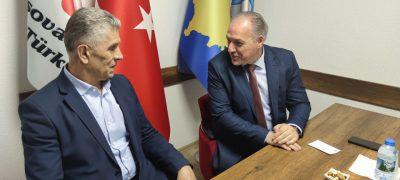 Dr. Süleyman Ugljanin ve Beraberindeki Heyet Partimizi Ziyaret Etti