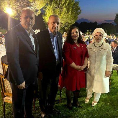 Başkanımız Fikrim Damka Antalya Diplomasi Forumu'nda Cumhurbaşkanı Recep Tayyip Erdoğan ile Bir Araya Geldi