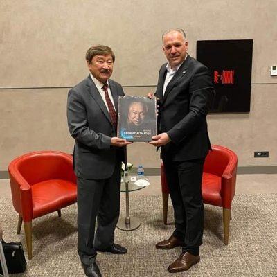 Başkanımız Fikrim Damka, TÜRKSOY Genel Sekreteri ile Bir Araya Geldi