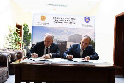 Prizren Türk Kültür Merkezi İşbirliği Anlaşması İmzalandı