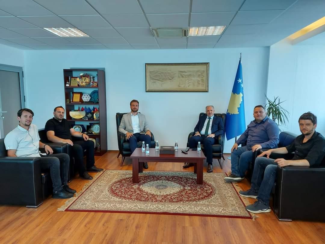 Gençlik Kolları Başkanları, Genel Başkanımız Fikrim Damka'yı Ziyaret Etti