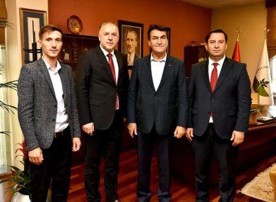 Bursa Osmangazi ve Yıldırım Belediyeleri Ziyaret Edildi