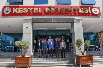 Genel Başkanımız Fikrim Damka ile Mamuşa Belediyesi Başkanı Abdülhadi Krasniç, Kestel Belediyesini Ziyaret Etti