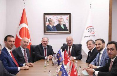 Ankara Ticaret Odası ve Ankara Sanayi Odası Ziyaret Edildi
