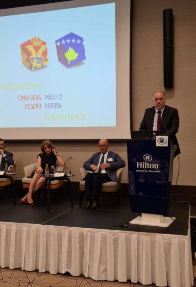 Genel Başkanımız Karadağ'da Düzenlenen İş Forumuna Katıldı