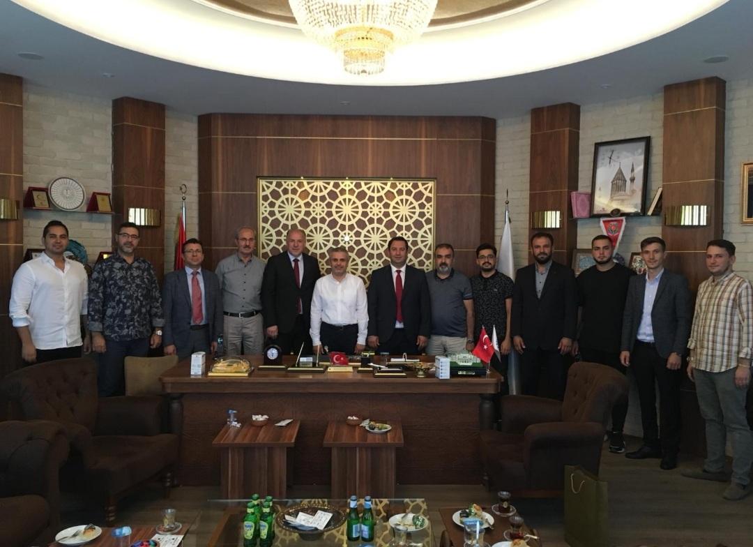 Genel Başkanımız Fikrim Damka ve Mamuşa Belediye Başkanı Abdülhadi Krasniç, Müsiad ve Tümsiad'ı Ziyaret Etti