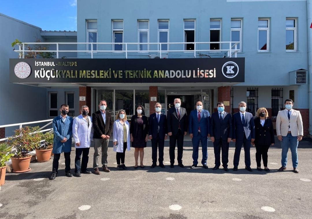 Genel Başkanımız, İstanbul'da Küçükyalı Mesleki ve Teknik Anadolu Lisesi'ni Ziyaret Etti.